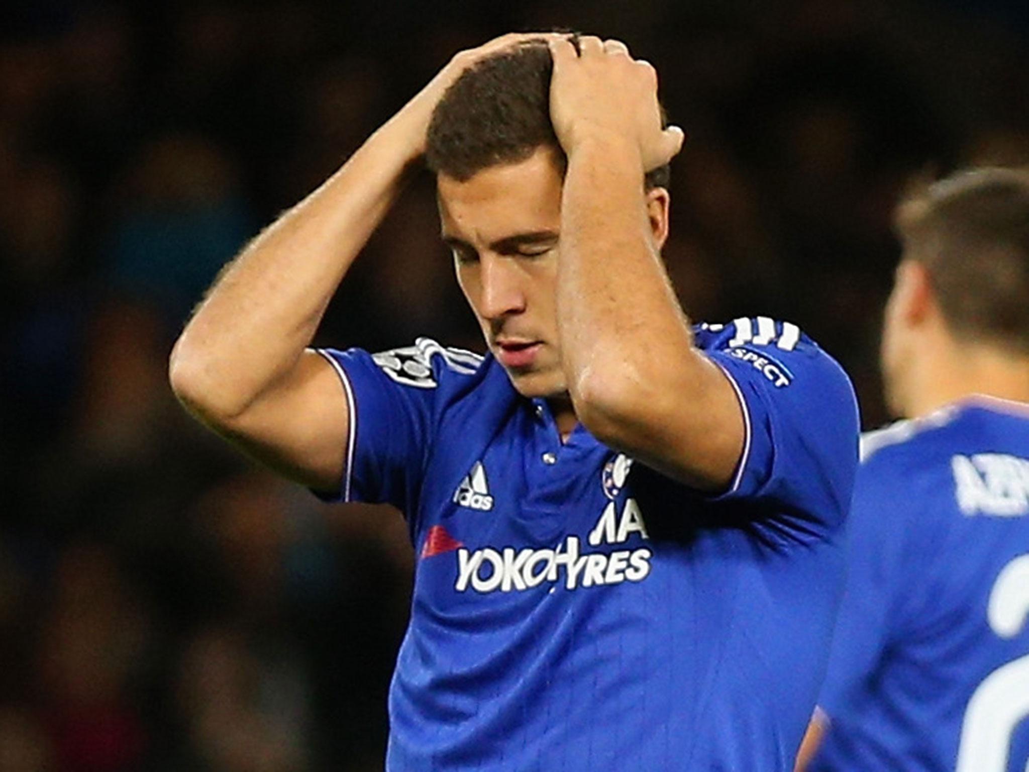 Eden Hazard benched