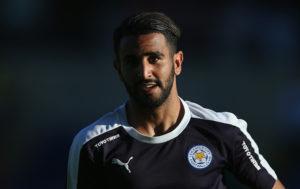 Riyad Mahrez of Leicester