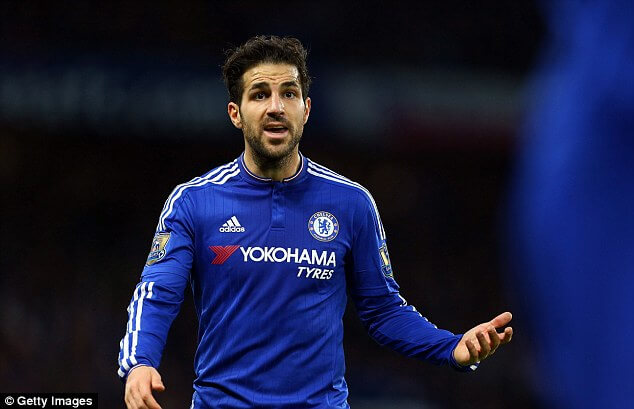 Chelsea star Cesc Fabregas Set For £26m Summer Swoop