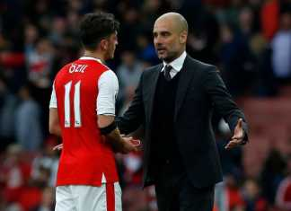 what Pep Guardiola told metsut ozil