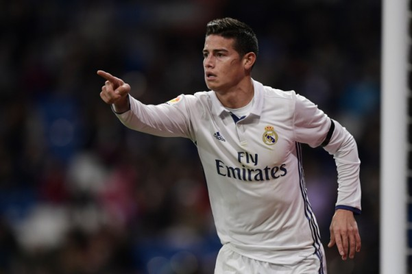 James Rodriguez man unites transfer news