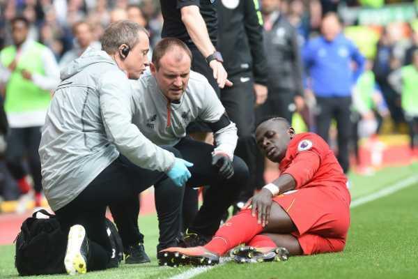Sadio Mane injury
