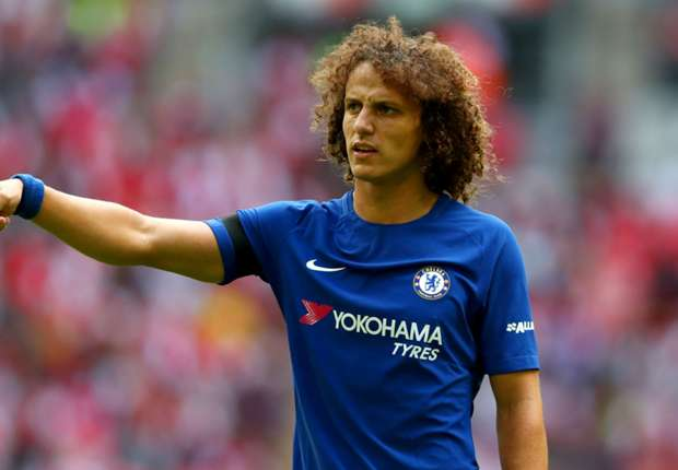 [Photos] David Luiz poses in Arsenal shirt after ...