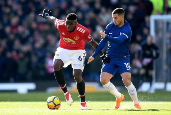 Chelsea v Man United starting lineups: Alvaro Morata starts in attack
