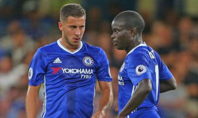 Kante and Hazard