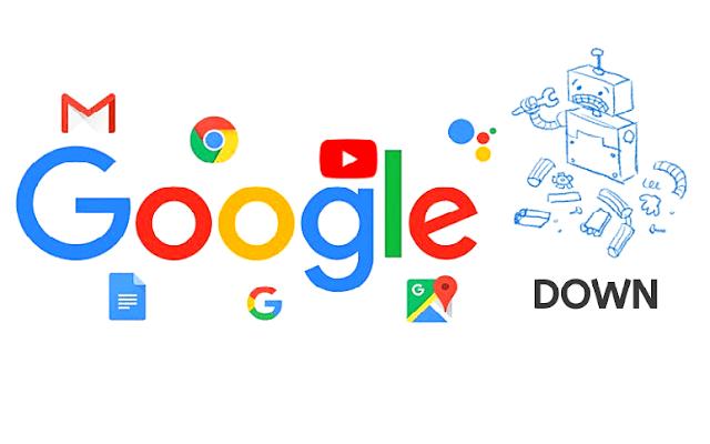 google down wtf?